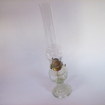 clear glass oil lamp 3 cropped