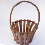 Adirondack Bent Wood Basket cropped
